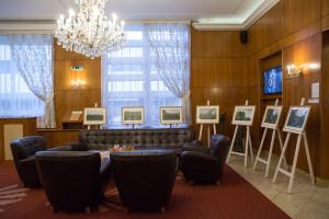V hoteli Devín v Bratislave je od 10. februára vystavený víťazný súbor fotografií Petra Korčeka Jungle City v rámci Grantu Bratislavy 2014.