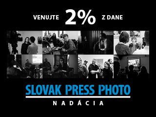 Podporte Nadáciu SLOVAK PRESS PHOTO